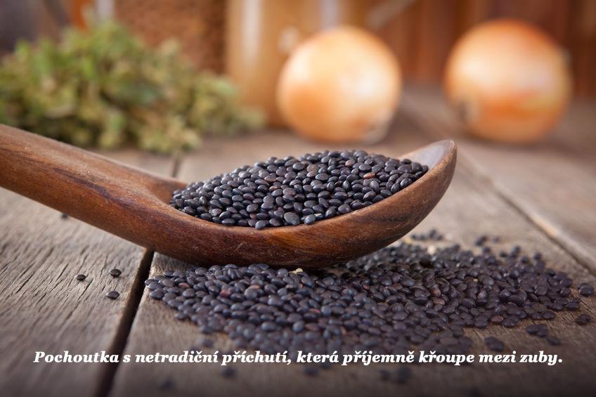 Černá čočka – kaviár zpřírodních zdrojů [recepty uvnitř]